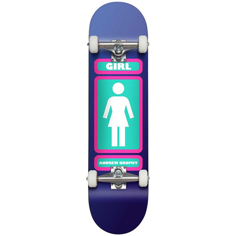 Girl Andrew Brophy Complete Skateboard Large 7.75