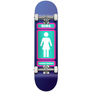 Girl Andrew Brophy Complete Skateboard Large 7.75