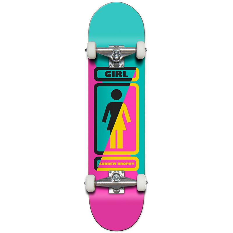 Girl Brophy 93 Til Complete Skateboard 7.75