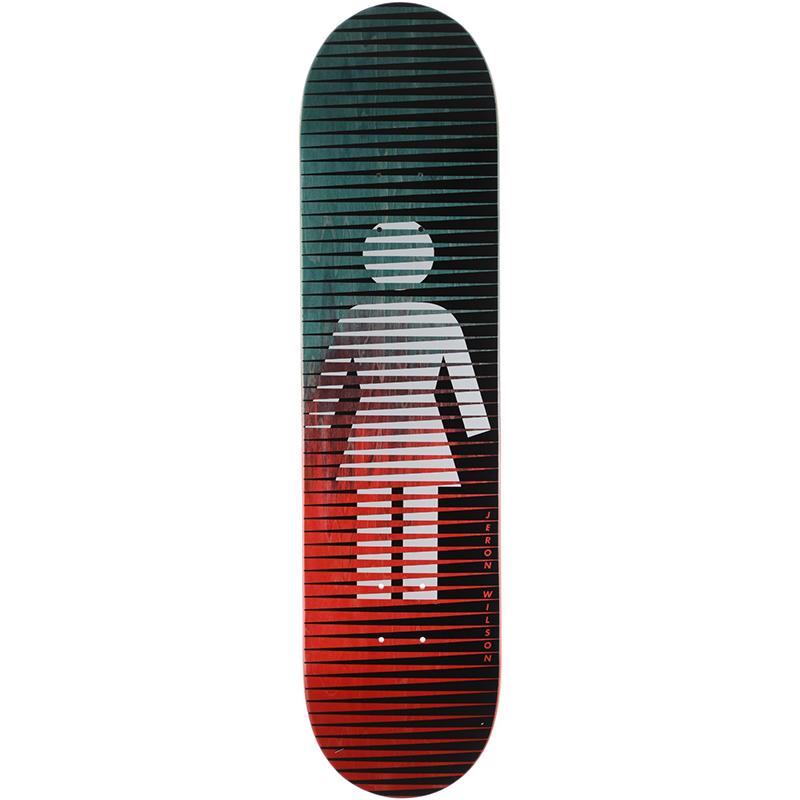 Girl Jeron Wilson Spike Fade Skateboard Deck 7.875