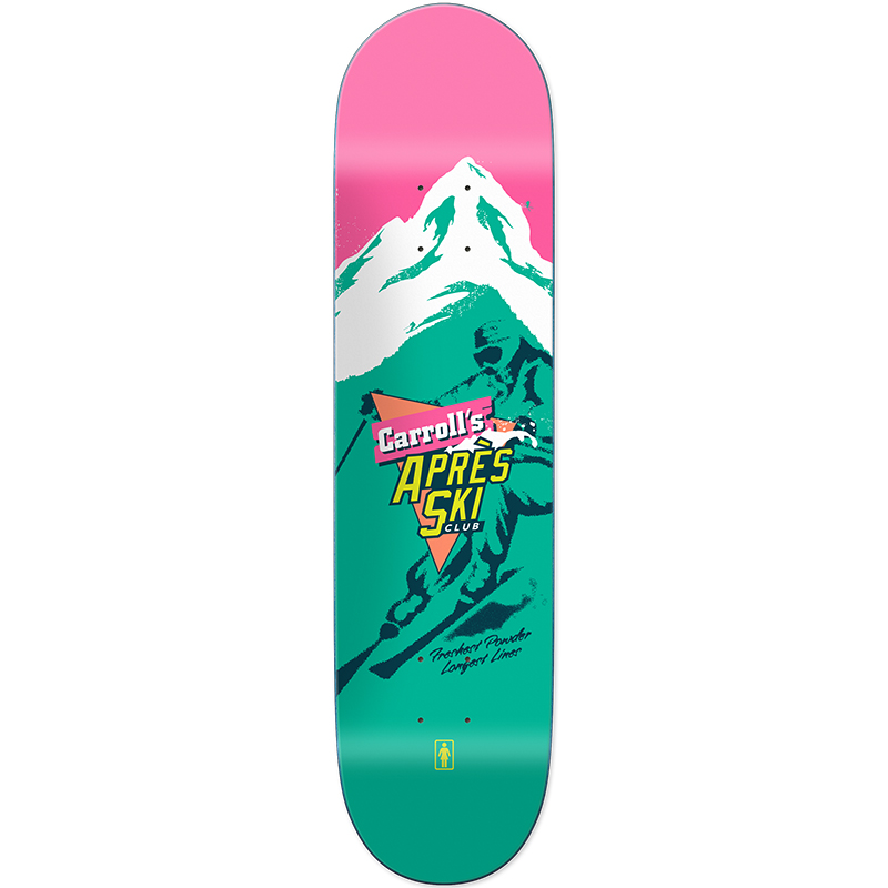 Girl Mike Carroll Apres Ski Skateboard Deck 8.375