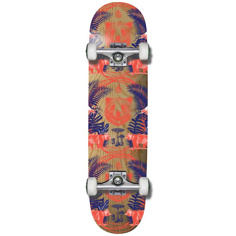 Grizzly Animal Kingdom Complete Skateboard 8.0