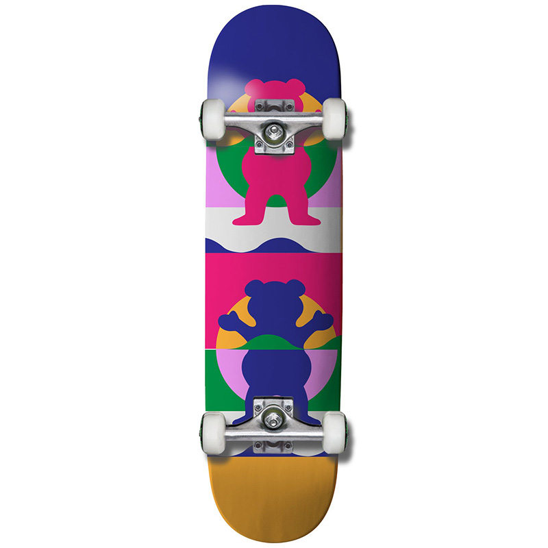 Grizzly Cannes Complete Skateboard 7.75