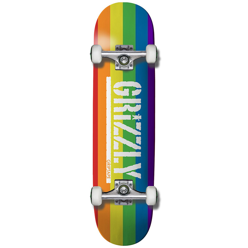 Grizzly Equality Complete Skateboard 8.0