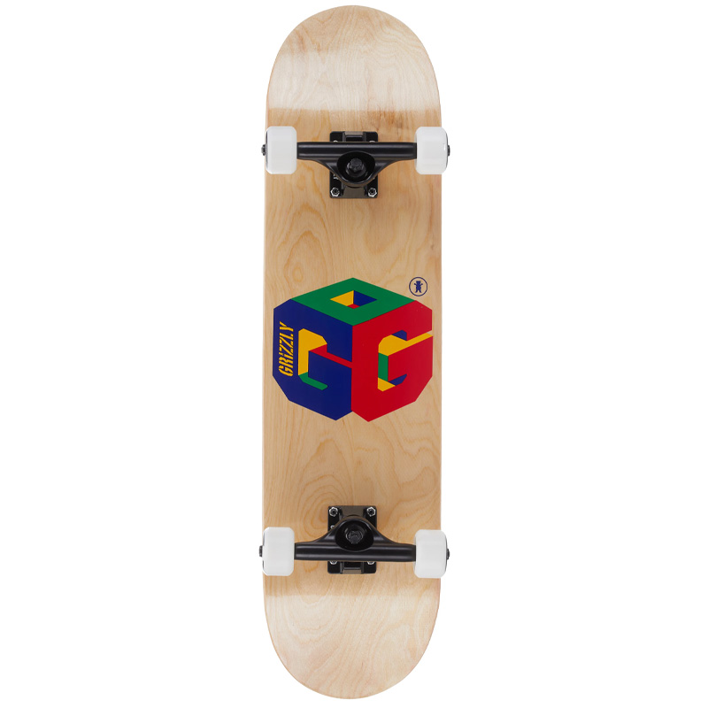 Grizzly G64 Complete Skateboard 8.0