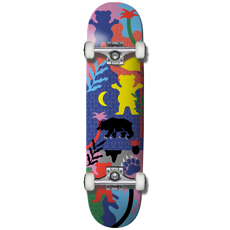 Grizzly Over The Wall Complete Skateboard 7.75