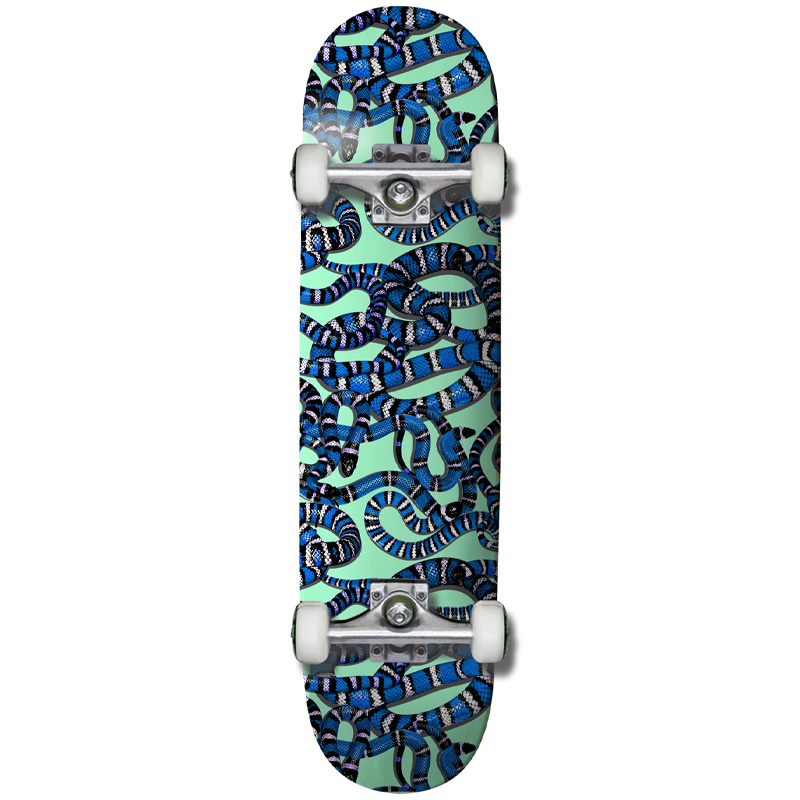 Grizzly Snake Eyes Complete Skateboard 8.0