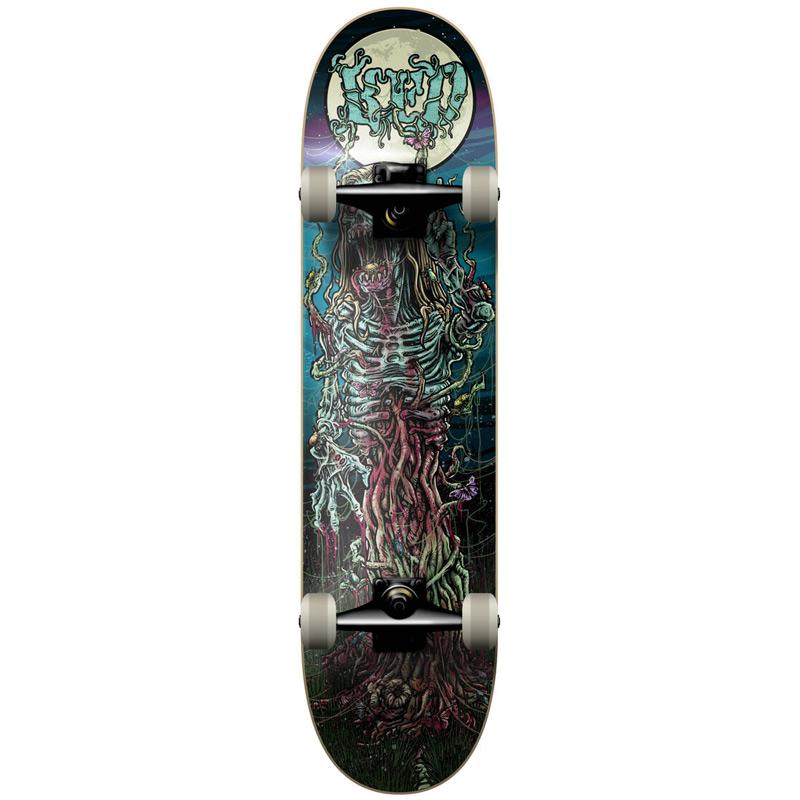 KFD Young Gun Hippy Zombie Complete Skateboard 7.825