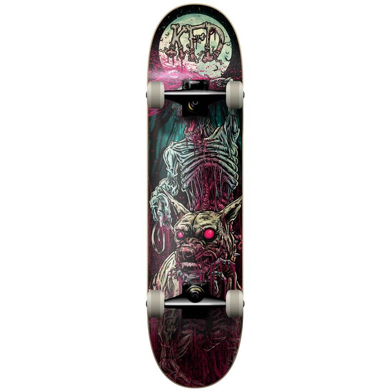 KFD Young Gun Patrol Zombie Complete Skateboard 8.0