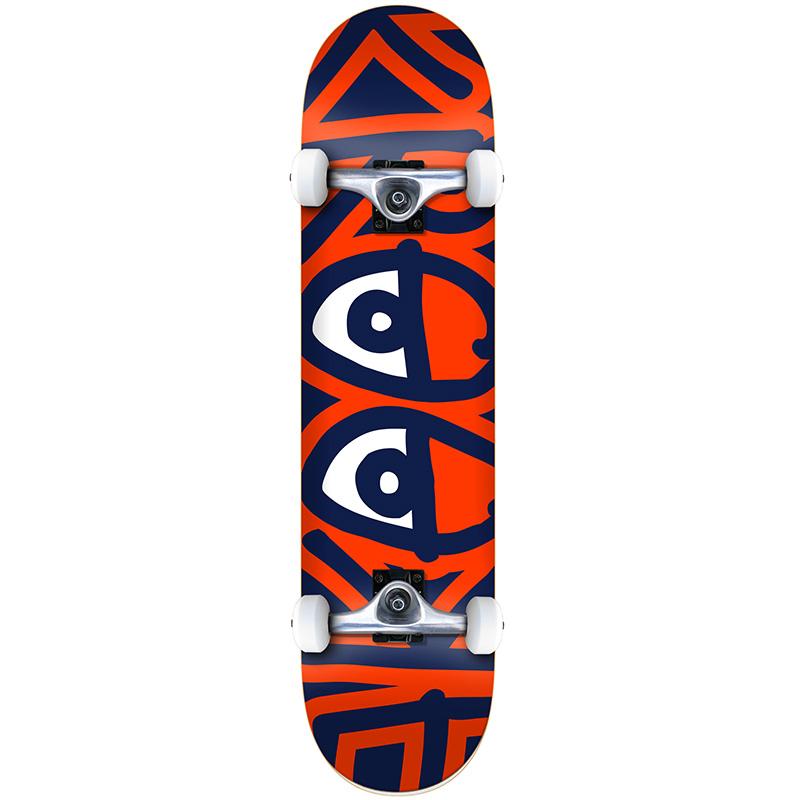 Krooked Bigger Eyes LG Complete Skateboard 8.0