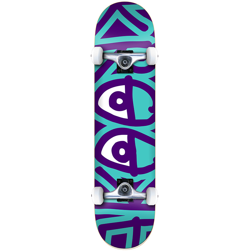 Krooked Bigger Eyes SM Complete Skateboard 7.5