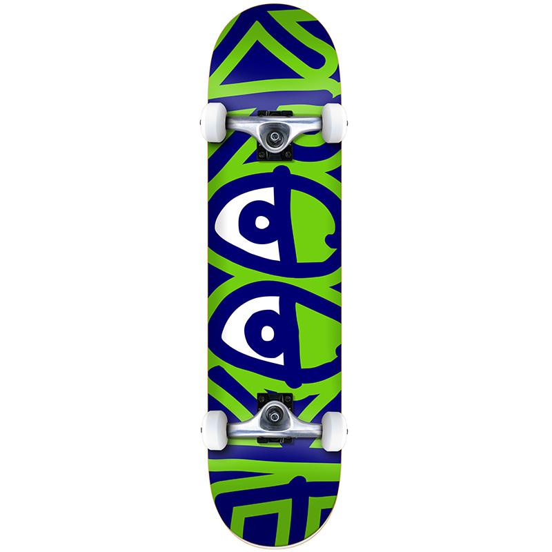 Krooked Bigger Eyes XL Complete Skateboard 8.25
