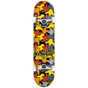 Krooked Birdcamo Medium Complete Skateboard 7.75