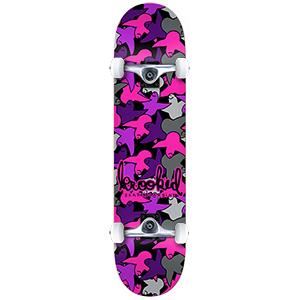 Krooked Birdcamo Mini Complete Skateboard 7.38