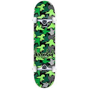 Krooked Birdcamo Small Complete Skateboard 7.5