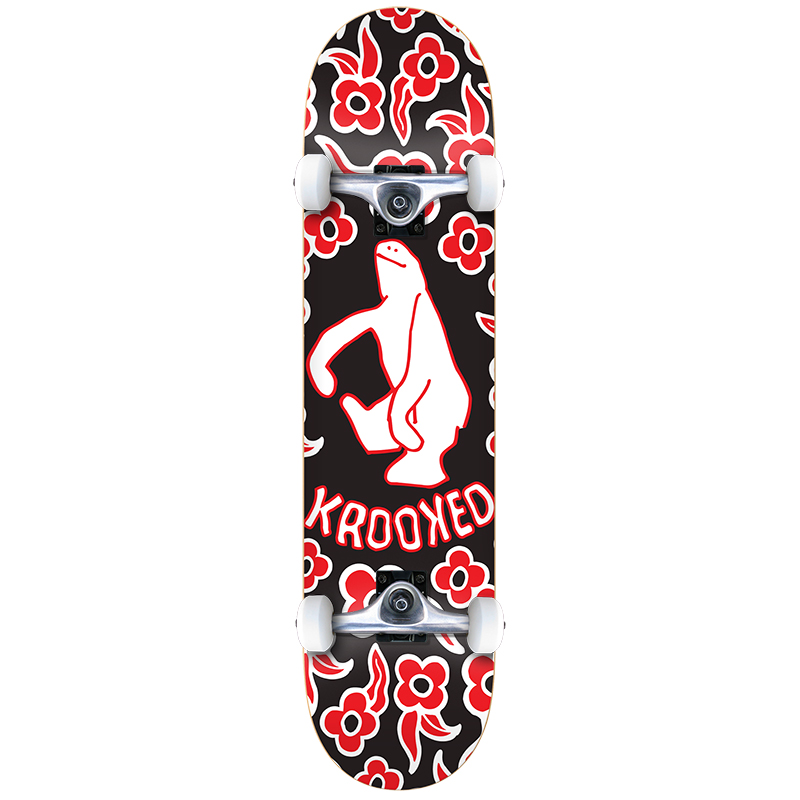 Krooked Gnu Shmoo Medium Complete Skateboard 7.75