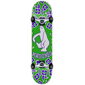 Krooked Gnu Shmoo Mini Complete Skateboard 7.38