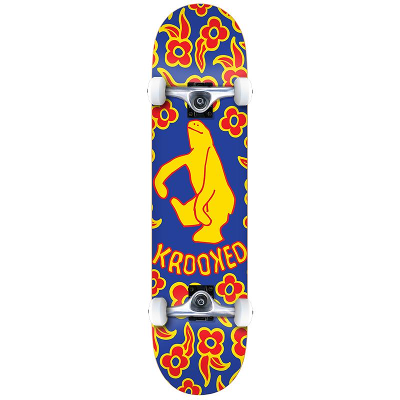 Krooked Gnu Shmoo Small Complete Skateboard 7.5