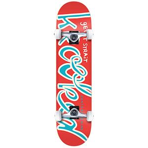 Krooked Krooklow Small Complete Skateboard 7.5