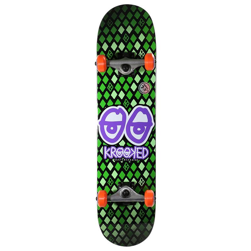 Krooked Nobel Eyes SM  Complete Skateboard 7.5