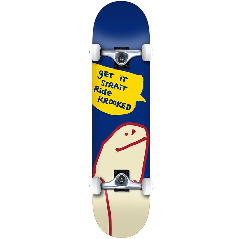 Krooked Og Shmoo MD Complete Skateboard 7.75