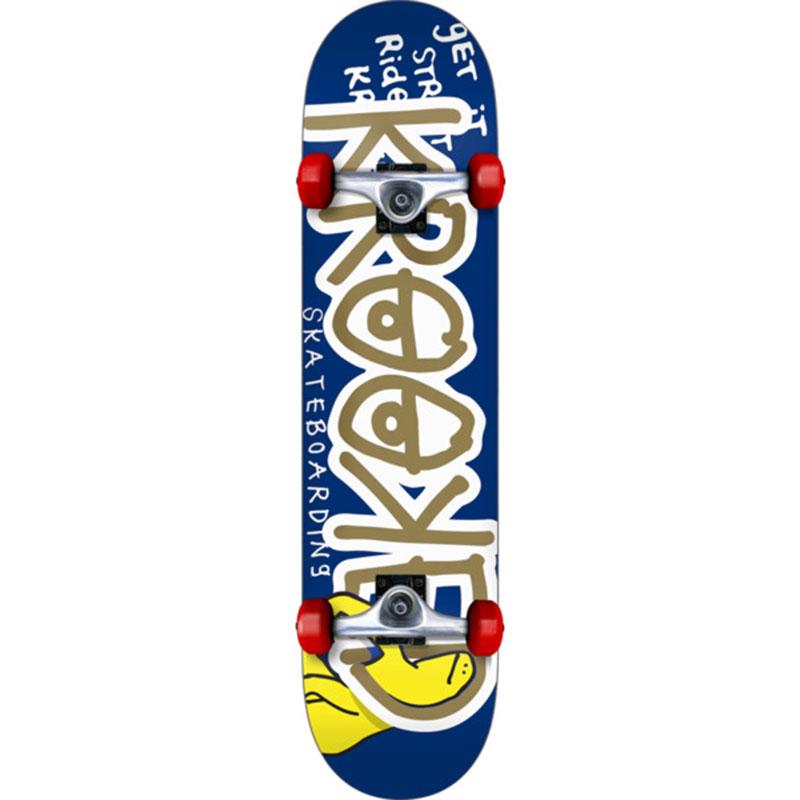 Krooked Right Hook M Complete Skateboard 7.75
