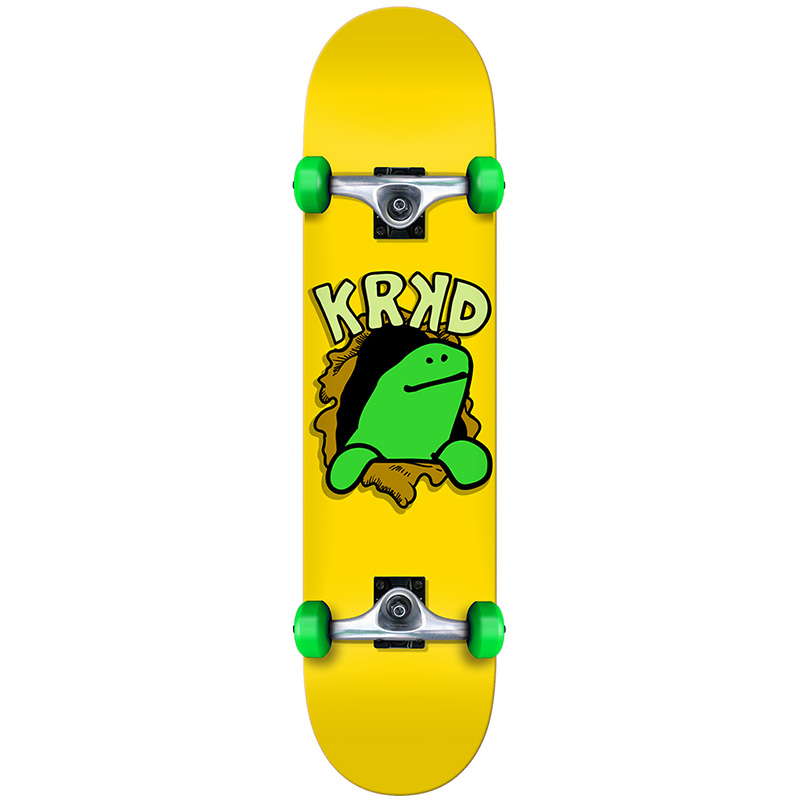 Krooked Shmoo Face First SM Complete Skateboard 7.5