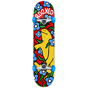 Krooked Shmoo Vibes Large Complete Skateboard 8.0
