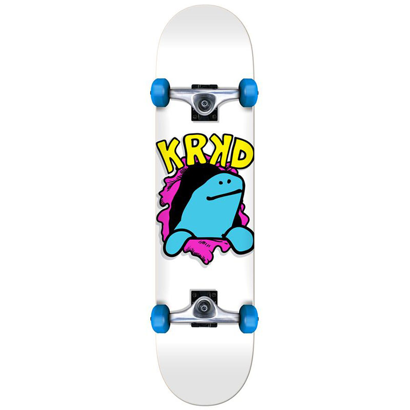 Krooked Shmooday Mini Complete Skateboard 7.3