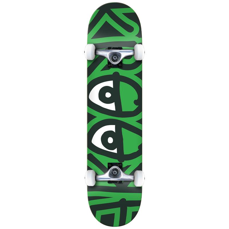 Krooked Team Big Eyes LG Complete Skateboard 8.0