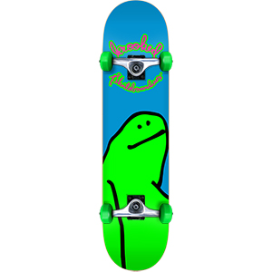 Krooked Team Shmoo Mini Complete Skateboard 7.38