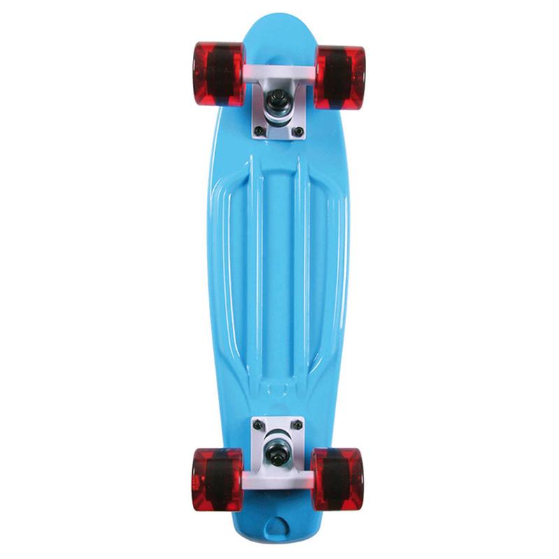 Long Island Buddy Cruiser Skateboard Blue 22.5