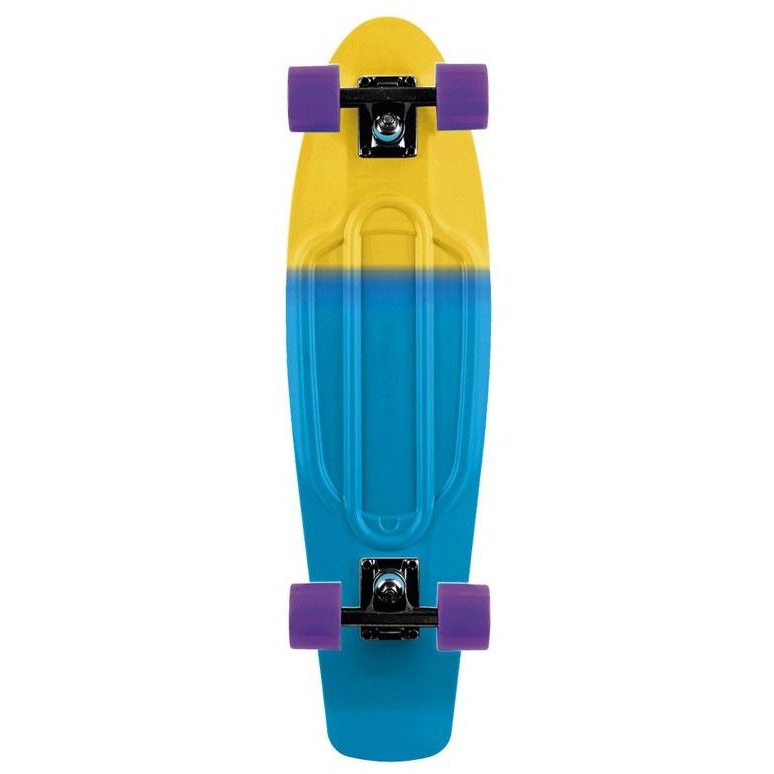 Long Island Buddy Cruiser Skateboard Duo Blue 22.5