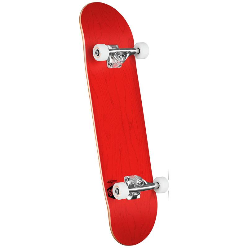 Mini Logo Chevron Detonator 15 Birch Complete Skateboard Dyed Shape 291 Red 7.75