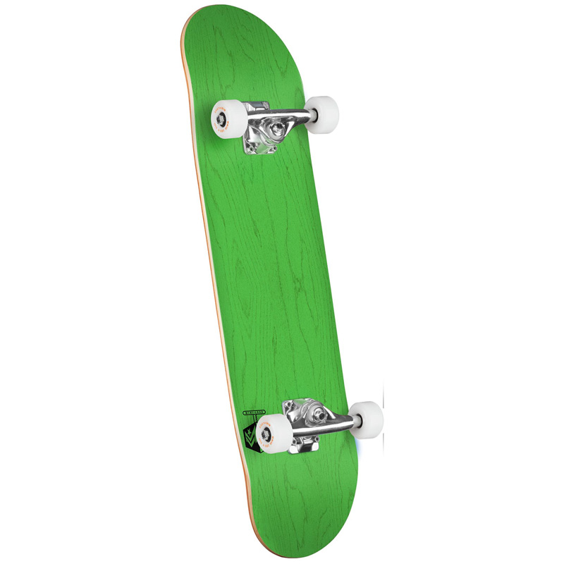Mini Logo Chevron Detonator 15 Birch Complete Skateboard Shape 242 Dyed Green 8.0