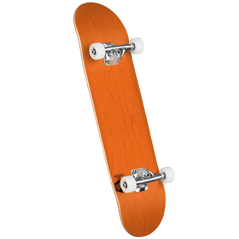 Mini Logo Chevron Detonator 15 Birch Complete Skateboard Shape 242 Dyed Orange 8.0