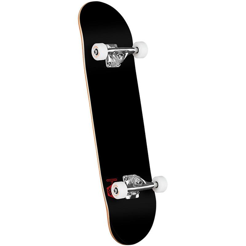 Mini Logo Chevron Detonator 15 Birch Complete Skateboard Shape 243 Solid Black 8.25