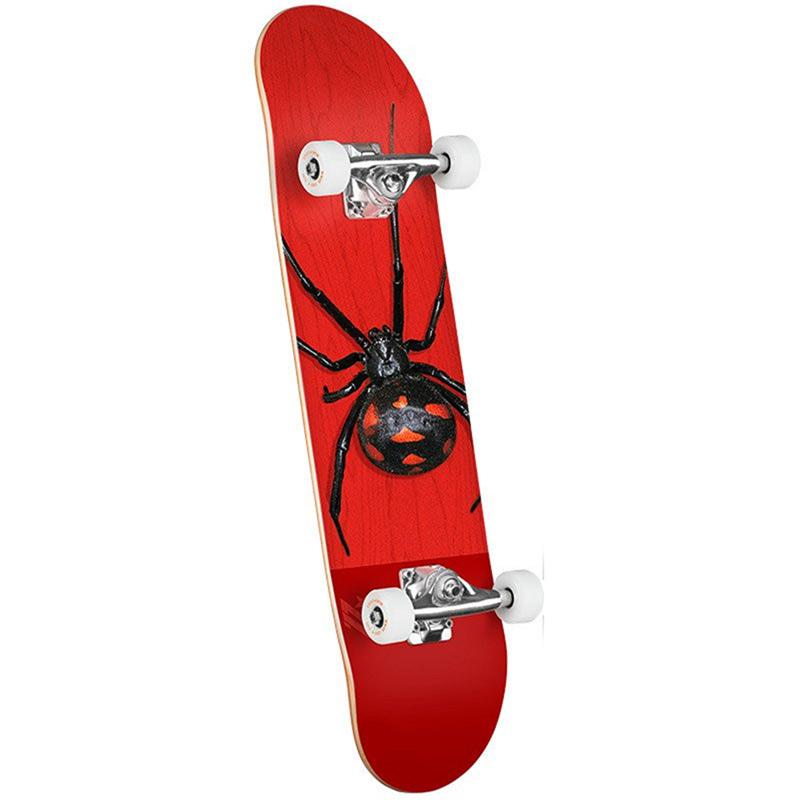 Mini Logo Poison Black Widow 16 Birch Complete Skateboard Shape 291 7.75