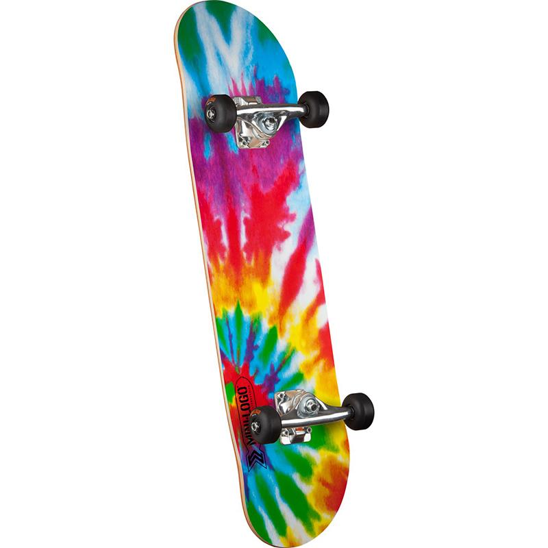 Mini Logo Small Bomb Tie Dye Complete Skateboard 7.5