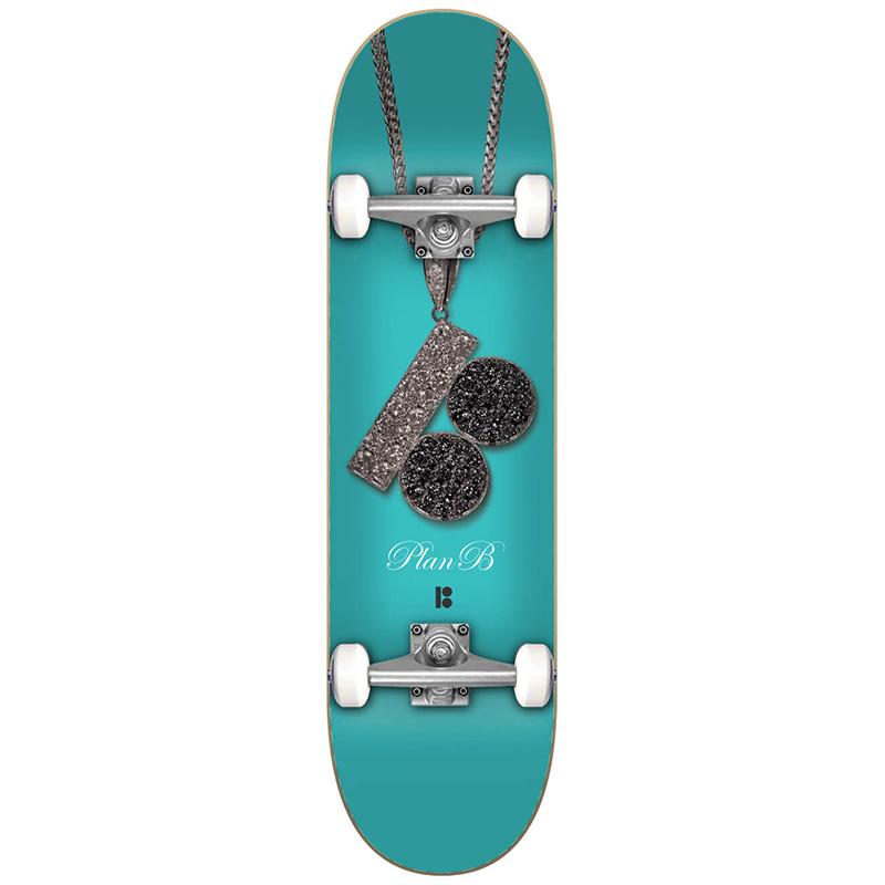 Plan B Chain Complete Skateboard 8.0