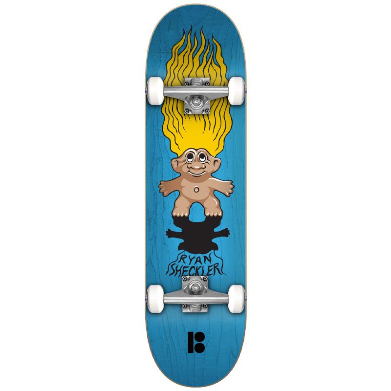 Plan B Sheckler Trolls Complete Skateboard 7.87