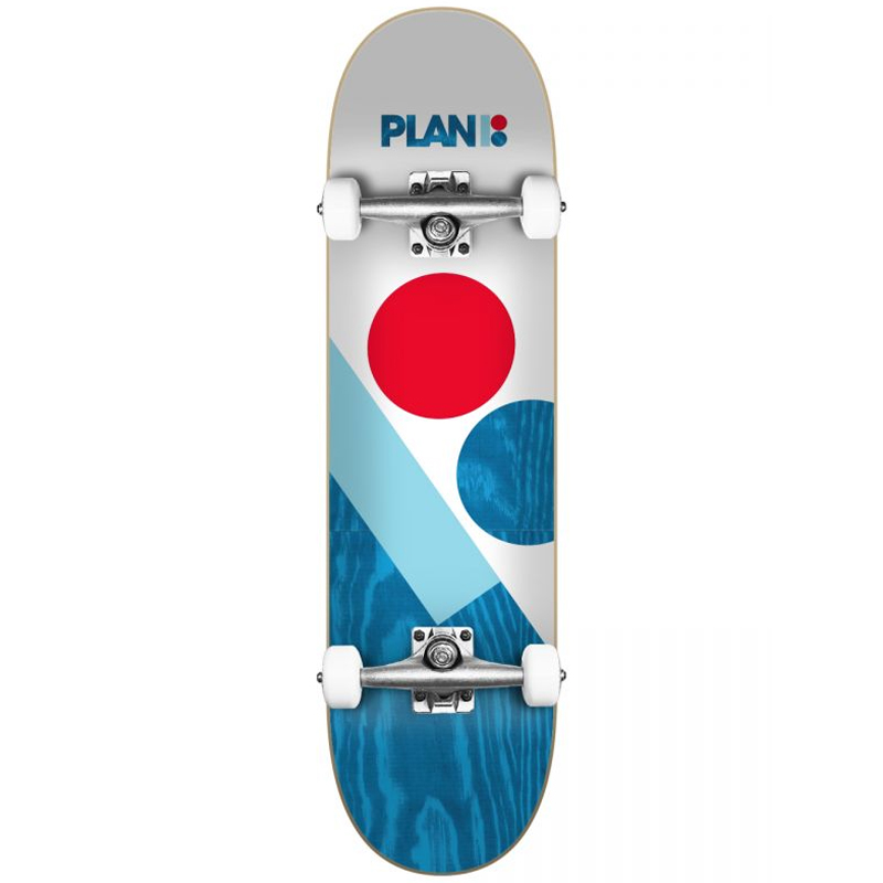 Plan B Slant Complete Skateboard 8.0