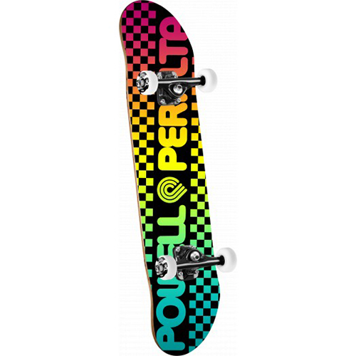 Powell Peralta Checker Colby Fade Complete Skateboard 7.75