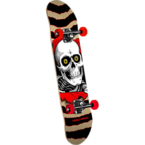 Powell Peralta Ripper Complete Skateboard Gold/Black 8.0
