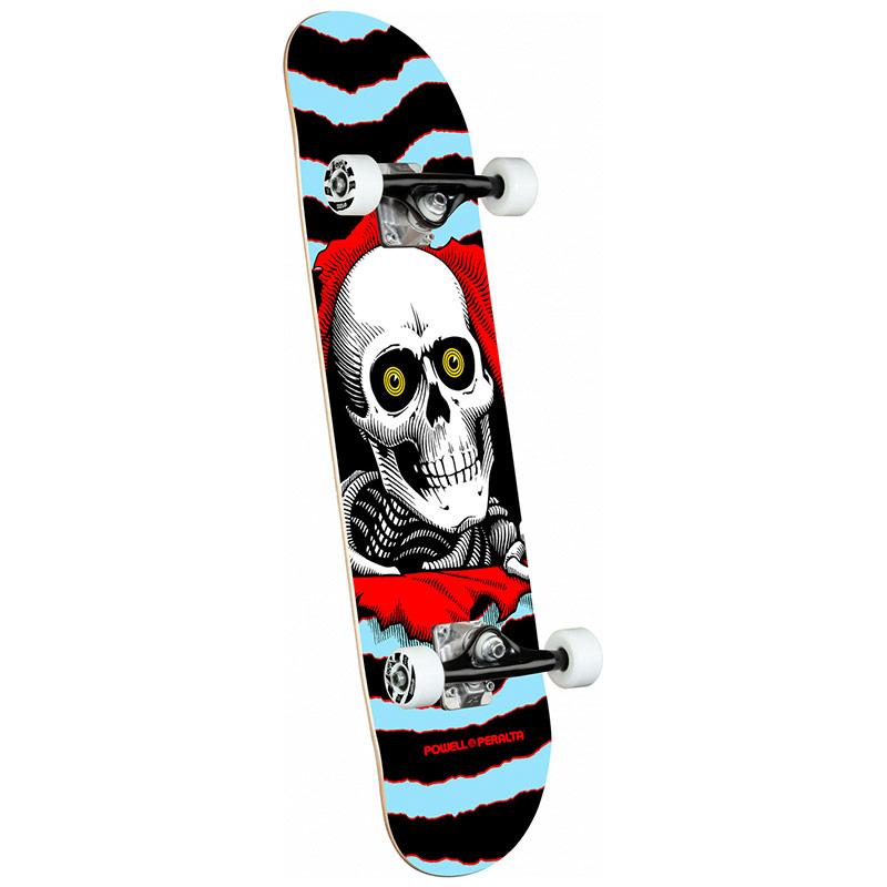 Powell Peralta Ripper Complete Skateboard Shape 242 Blue 8.0