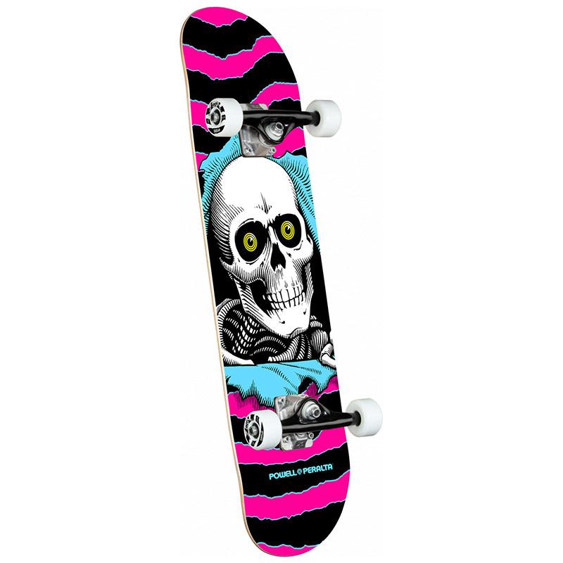Powell Peralta Ripper Complete Skateboard Shape 291 Pink 7.75