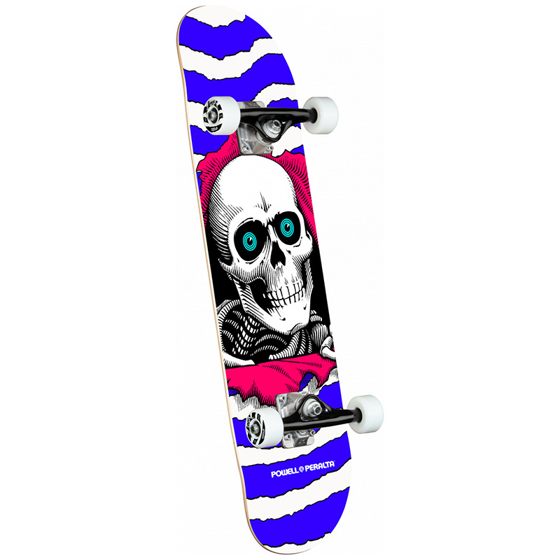 Powell Peralta Ripper Complete Skateboard Shape 291 Purple 7.75