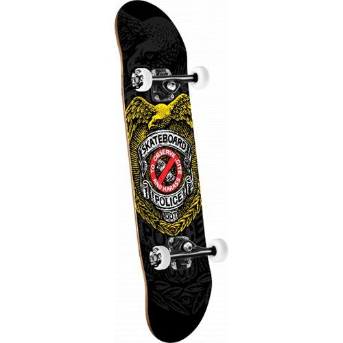 Powell Peralta Skateboard Police Complete Skateboard 8.0
