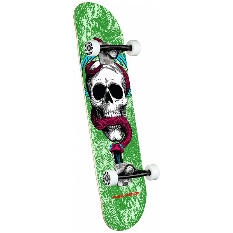Powell Peralta Skull & Snake Complete Skateboard Shape 291 Green 7.75