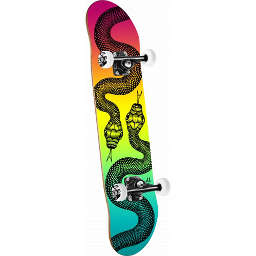 Powell Peralta Snakes Colby Fade Complete Skateboard 7.88